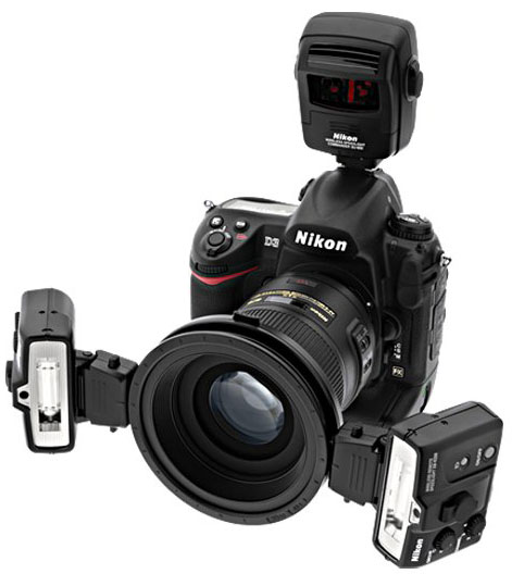 Nikon R1C1 wireless Close-Up Speedlight System